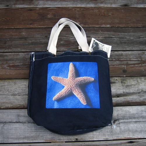 Starfish Cotton Girly Tote/Purse