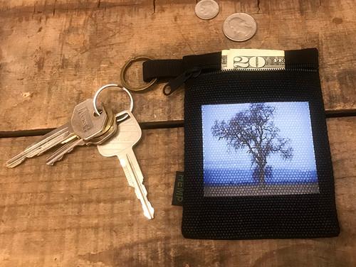 Oak Tree Hemp Key Coin Purse/Pouch