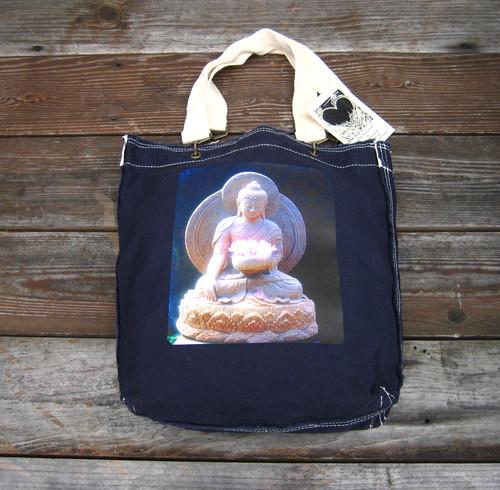 Shakyamuni Buddha Cotton Girly Tote/Purse