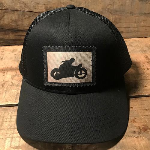 Motorcycle Symbol Keep on Truckin' Organic Cotton Trucker Hat