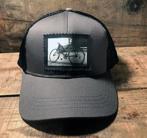 Bike Keep on Truckin' Organic Cotton Trucker Hat