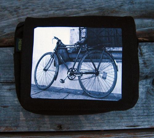 Bike Small & Large City Slicker Hemp Purse