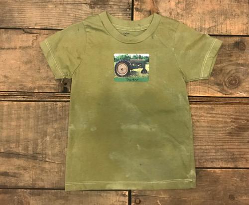 Tractor Kid's Certified Organic Cotton T Shirt