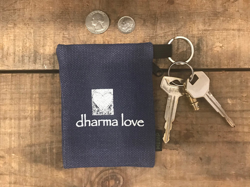 Buddha Shakyamuni Hemp Key coin Purse