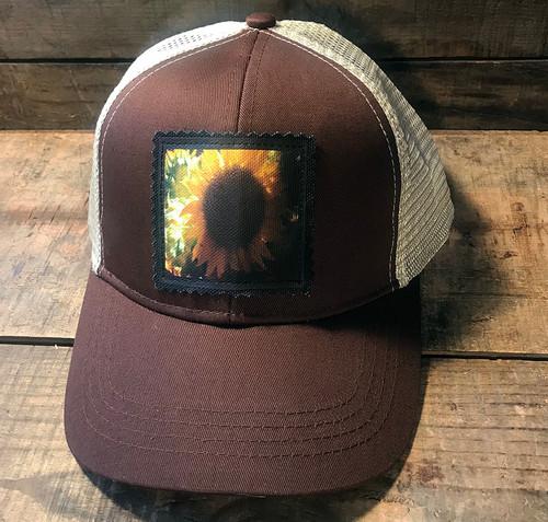 Sunflower Keep on Truckin' Organic Cotton Trucker Hat