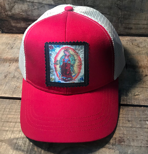 Our Lady of Guadalupe Keep on Truckin' Organic Cotton/Recycled Polyester Trucker Hat