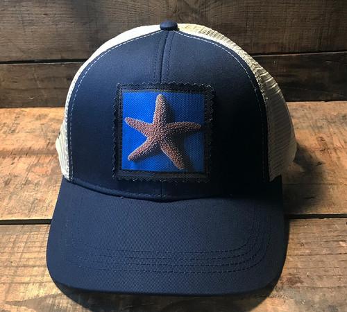 Starfish Keep on Truckin' Organic Cotton Trucker Hat