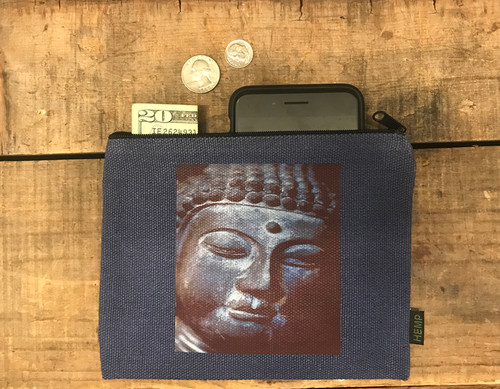 Buddha's Face Medium &  Large Hemp Coin Purse