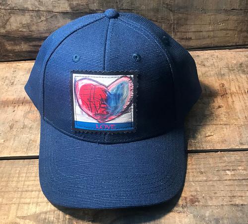Cosmic Interlude of Love Hemp Baseball Hat