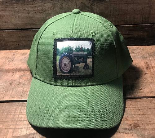 Tractor Hemp Baseball Hat