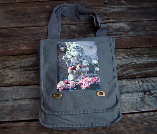 Front of field bag