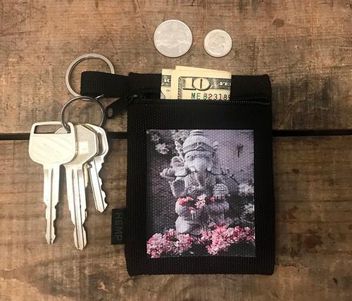 Ganesh Hemp Key Coin Purse/Pouch
