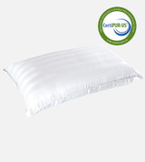 cariloha retreat pillow with certiPUR certification