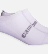 close-up on White crew socks