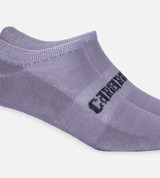 close-up on Gray ankle socks