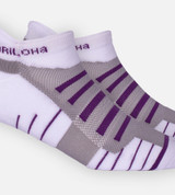 close-up no White/Orchid Bloom tab athletic socks