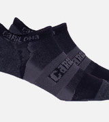 close-up on Carbon Heather athletic sock