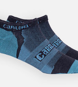 close-up on Refresh Teal athletic socks