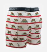 back of california bear boxers