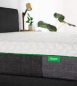 corner close-up on the resort mattress