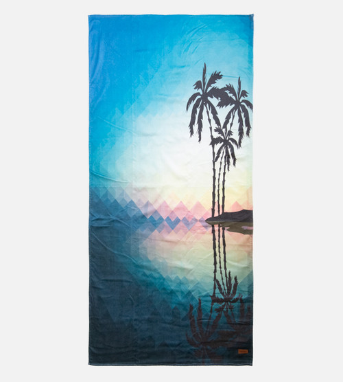 geo palm beach towel