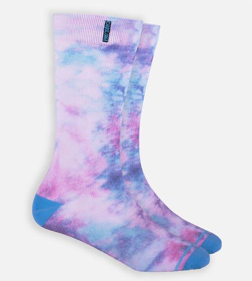 Rainbow Tie Dye trouser sock