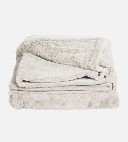 coconut milk plush bamboo throw blanket