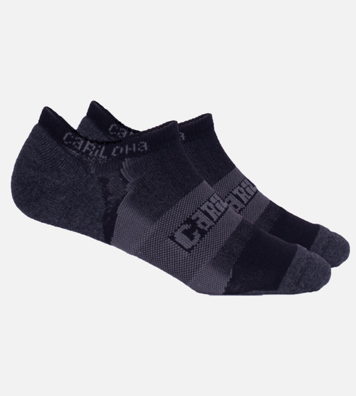 Carbon Heather athletic sock