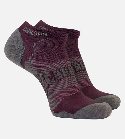 women's merlot bamboo athletic socks