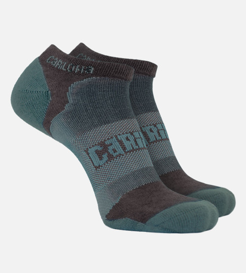 men's refresh teal bamboo athletic socks