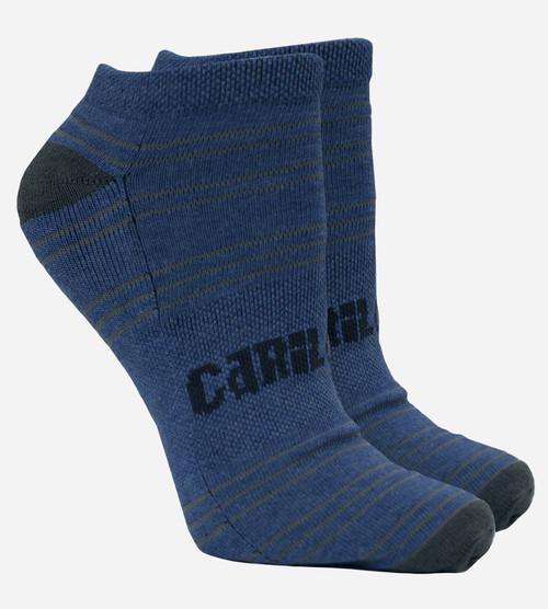 women's royal blue bamboo ankle socks