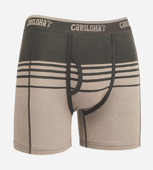 shoreline gray stripe boxer briefs