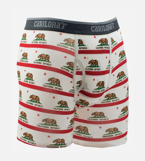 front of california bear boxers