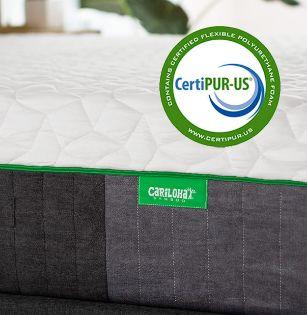 CertiPur certified bamboo mattress