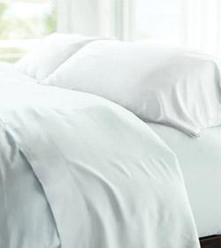 white resort sheets