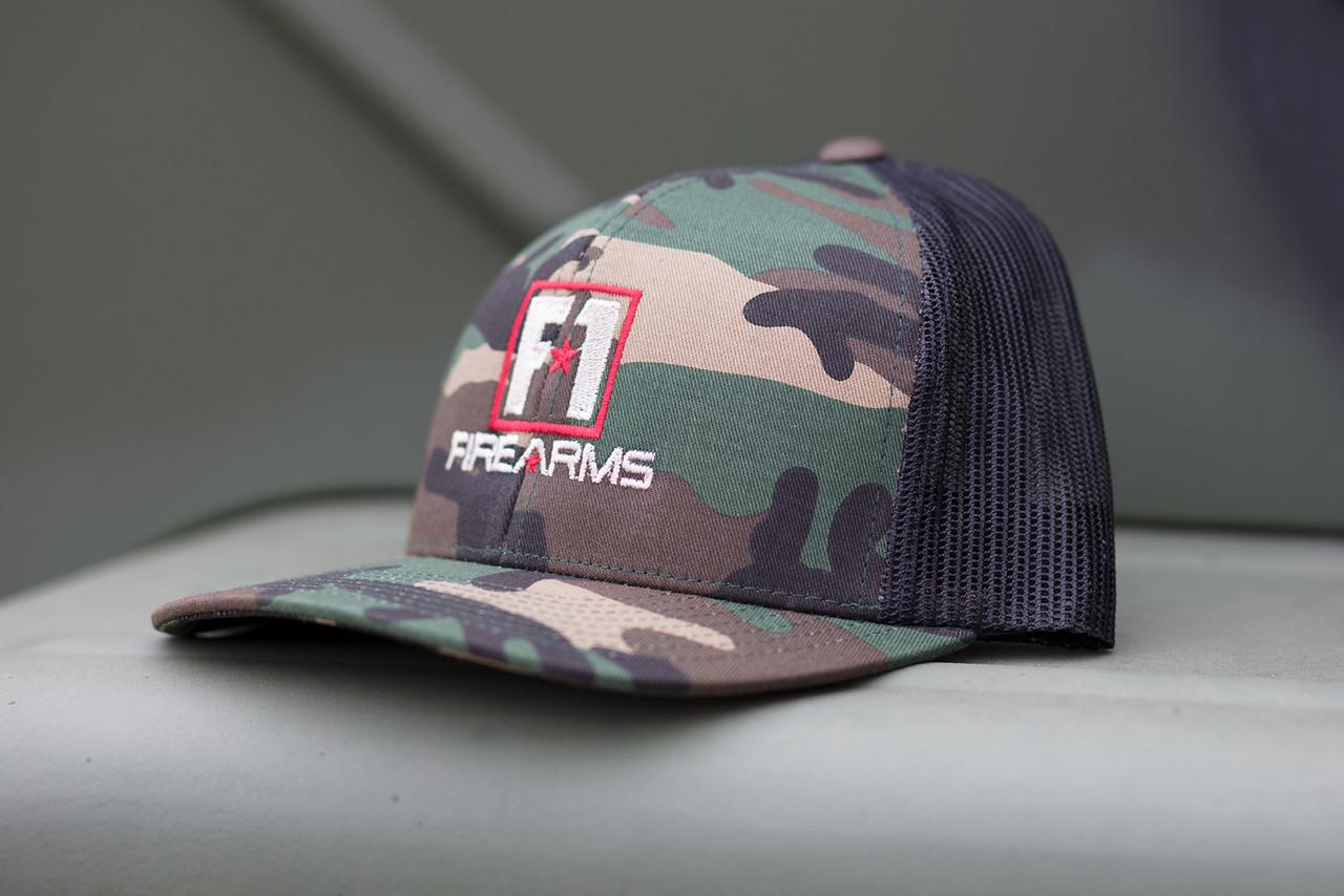 F-1 Firearms Camo Hat