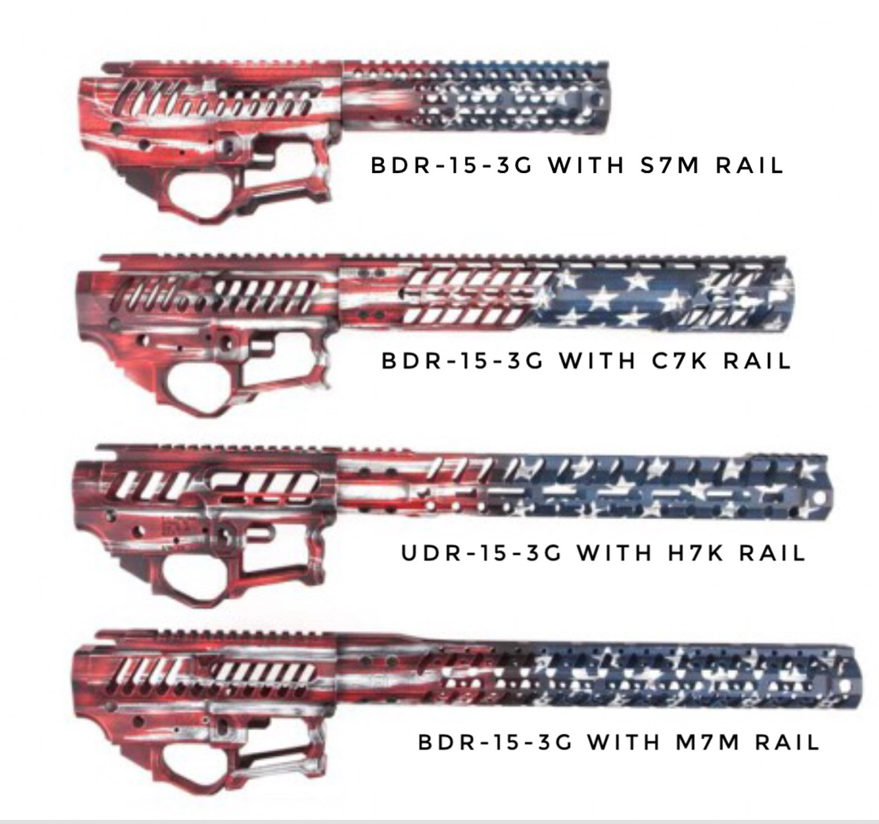 """Old Glory Chassis - BDR-15 3G - S7M 7.7"""""""