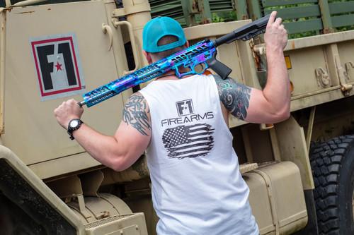 White Mens Tank