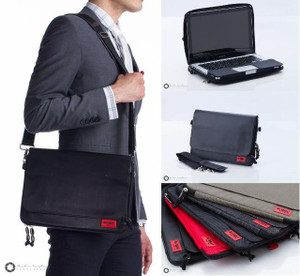 Hybrid Messenger-Case for Macbook Air / Macbook Pro