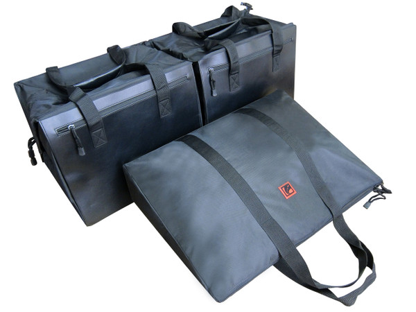 Porsche 911 3pc Custom Fitted Luggage Bags (991 2012-2019)