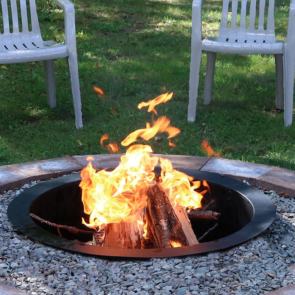 Sunnydaze Heavy Duty Fire Pit Rim Diy Fire Pit