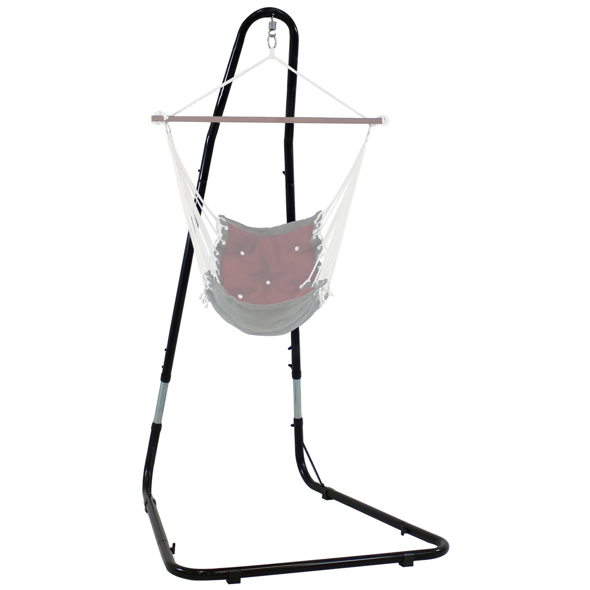 Adjustable Hammock Chair Stand Steel Frame For Hammock Chairs Swings US STOCK