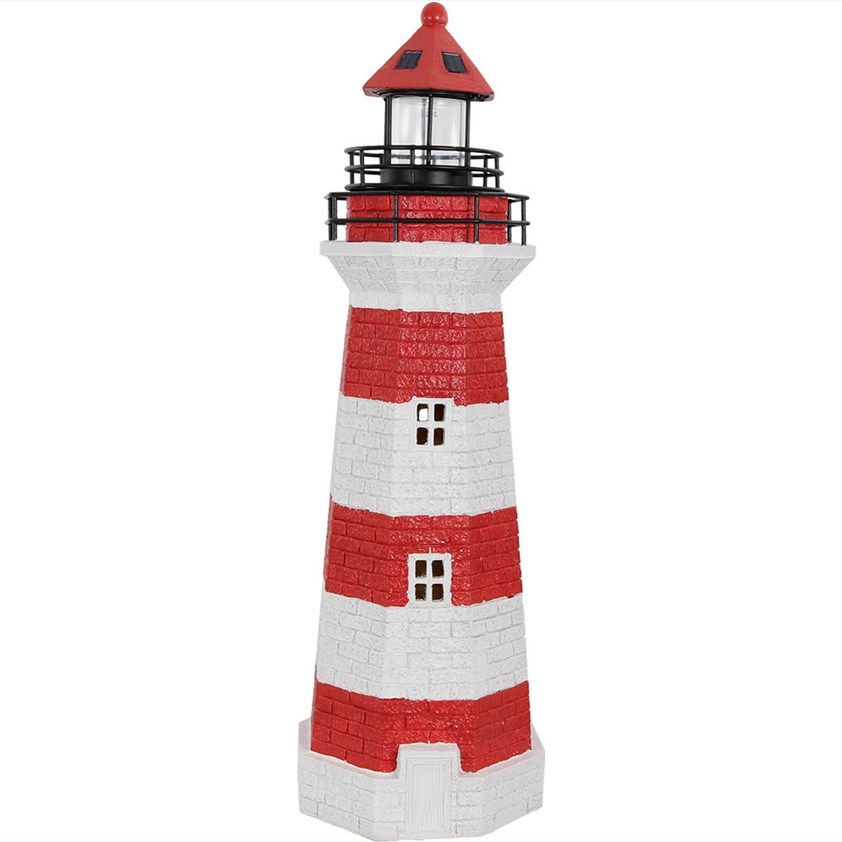 Sunnydaze Solar Striped LED Lighthouse Outdoor Decor, 36 ... on lighthouse plates, lighthouse art, lighthouse urns, lighthouse gifts, lighthouse lighting, lighthouse garden, lighthouse sheds, lighthouse craft projects, lighthouse candles, lighthouse pottery, lighthouse flags, lighthouse home, lighthouse pots, lighthouse furniture, lighthouse sculptures, lighthouse jewelry, lighthouse statues, lighthouse birdhouses, lighthouse books, lighthouse fountains,