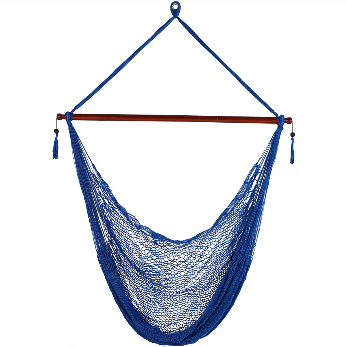 Sunnydaze Hanging Cabo Extra Large Hammock Chair 47 Inch Wide
