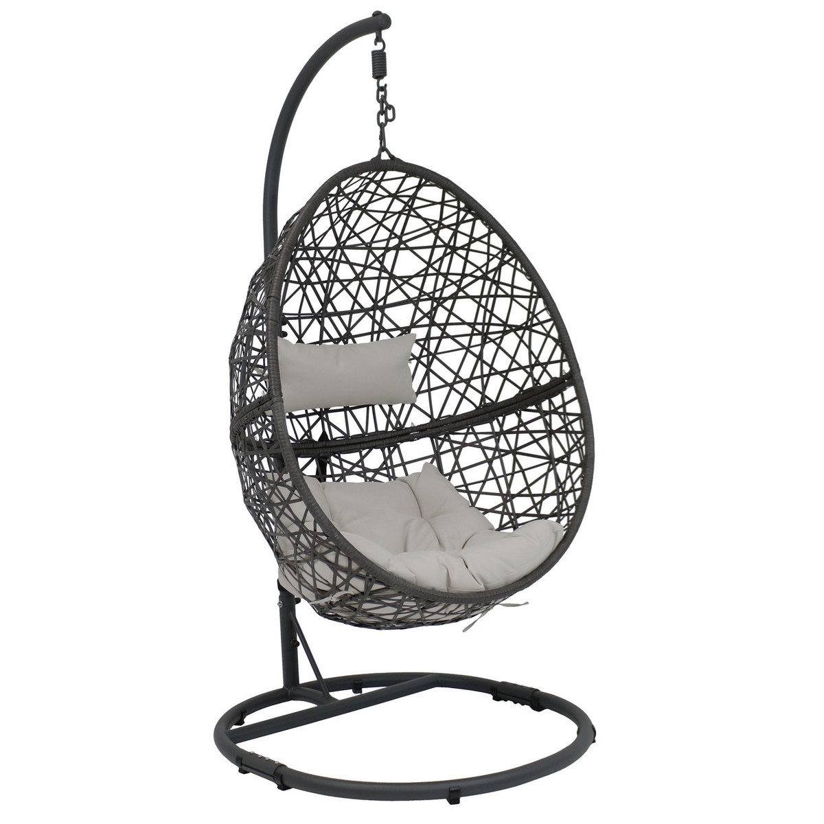 Picture of: The 5 Best Hanging Egg Chairs With Stands Review 2020 Ultra Comfortable