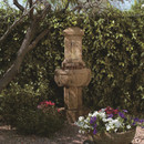 Elegant Cast Stone Chalet Fountain by Henri Studio