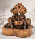 Indoor/Outdoor Cast Stone Medium Rock Falls Fountain by Henri Studio