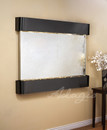 Blackened Copper, Silver Mirror, Round Edges