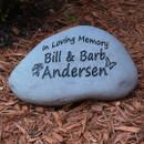 """Custom Engraved Large Garden Stone - 9-11"""""""