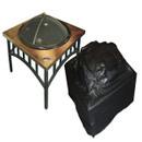 Outdoor Square Fire Pit Vinyl Cover